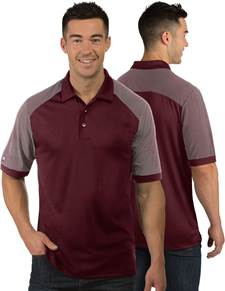 104106 - Engage Maroon/White (Mens Shirts Polo)