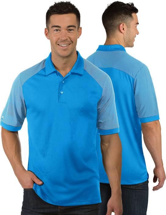 104106 - Engage Surf/White (Mens Shirts Polo)