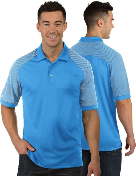 104106 - Engage Columbia Blue/White (Mens Shirts Polo)
