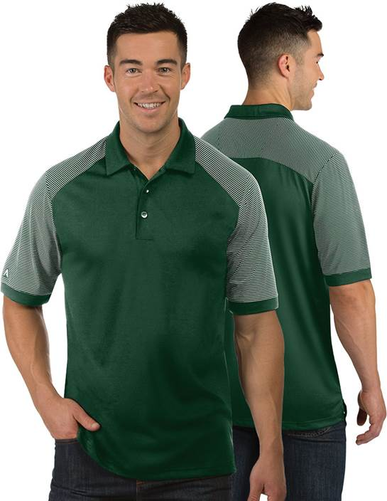 104106 - Engage Dark Pine/White (Mens Shirts Polo)