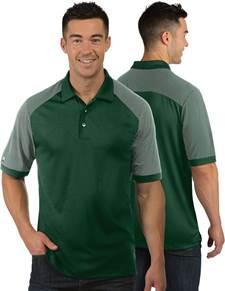 104106 - Engage Dark Pine/White (Mens Shirts Polo)
