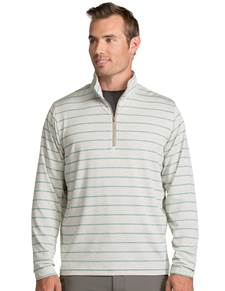 104109 - Stratus Sandalwod Heather/Seaglass (Mens Outerwear Pullover)
