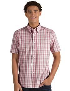104123 - Crew Maroon/Silver/White (Mens Shirts DressShirt)