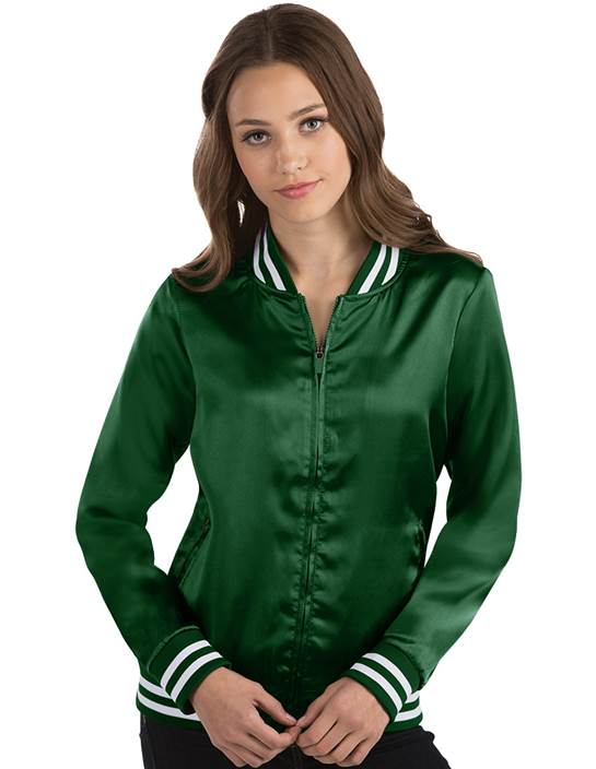 104128 - Women's Strut Dark Pine/White (Womens Outerwear Jacket)
