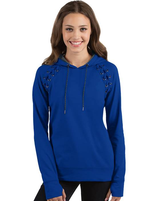 104131 - Women's Craze Dark Royal/Charcoal Heather (Womens Outerwear Pullover)