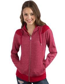 104132 - Women's Lineup Cardinal Red Heather/Silver (Womens Outerwear Jacket)