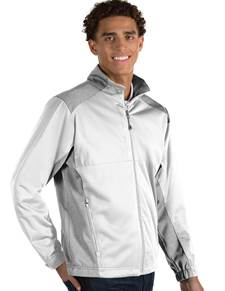104135 - Revolve White/ Light Grey Heather (Mens Outerwear Jacket)