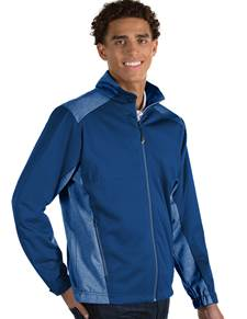 104135 - Revolve Dark Royal/Dark Royal Heather (Mens Outerwear Jacket)