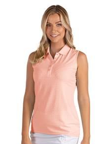104142 - Women's Sl Pearl Peach (Womens Shirts Polo)