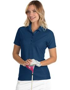 104145 - Women's Pearl Navy (Womens Shirts Polo)