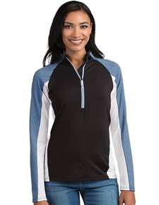 104147 - Women's Solace Black/White/Laguna (Womens Outerwear Pullover)
