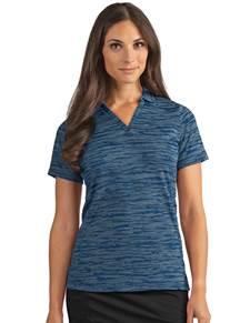 104149-041 - Women's Pixel Navy Heather (Womens Shirts Polo)