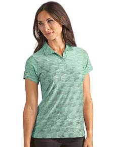 104152 - Women's Chance Jade/Black Multi (Womens Shirts Polo)