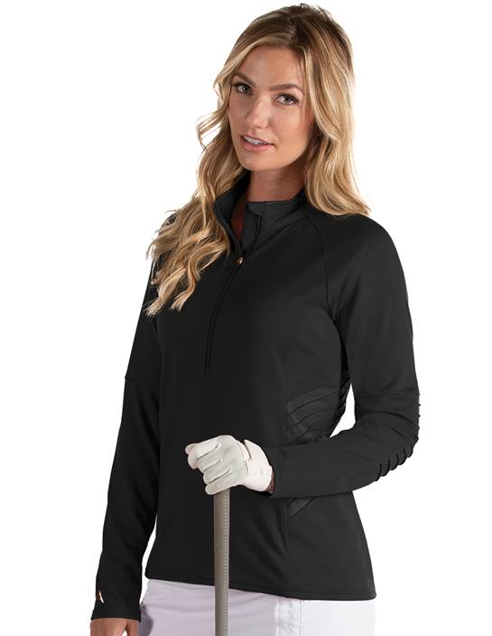 104157 - Women's Luxe Black (Womens Outerwear Pullover)