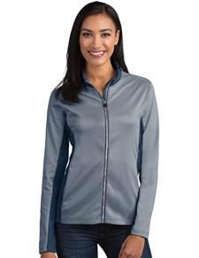 104158 - Women's Prescott Navy/Navy Heather (Womens Outerwear Jacket)