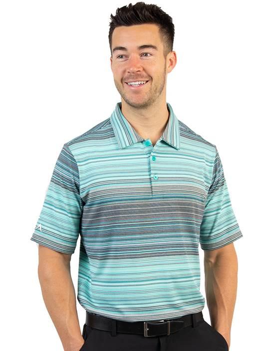 104164 - Sureshot Jade Multi (Mens Shirts Polo)