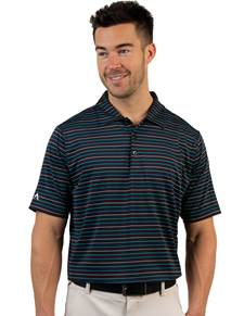 104167 - Cove Black/Bermuda Multi (Mens Shirts Polo)