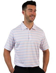 104167 - Cove White/Laguna Multi (Mens Shirts Polo)