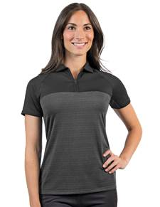 104171 - Women's Propel Black Multi (Womens Shirts Polo)