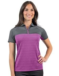 104171 - Women's Propel Bedrock/Jam Heather (Womens Shirts Polo)