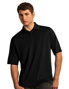 104177-010 - Exceed Tall Black (Mens Shirts Polo)