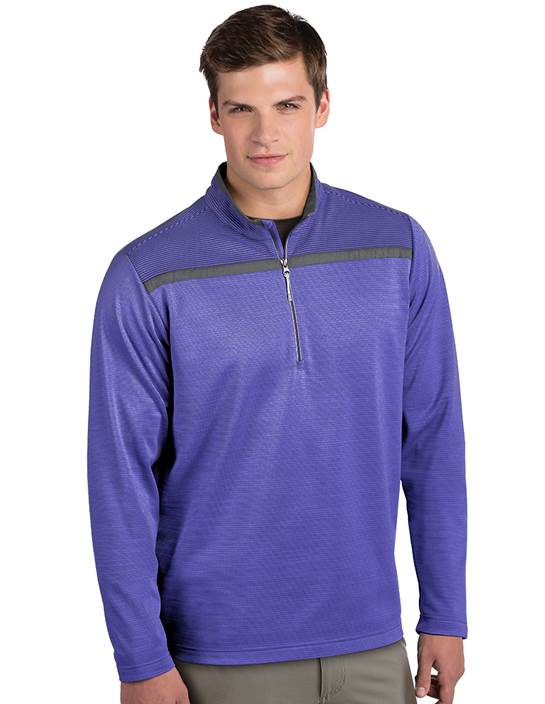 104182-76D - Cryptic Dark Blueberry/Iron Multi (Mens Outerwear Pullover)