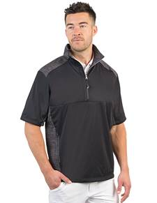 104192-258 - Barrier Black/Black Heather (Mens Outerwear Pullover)