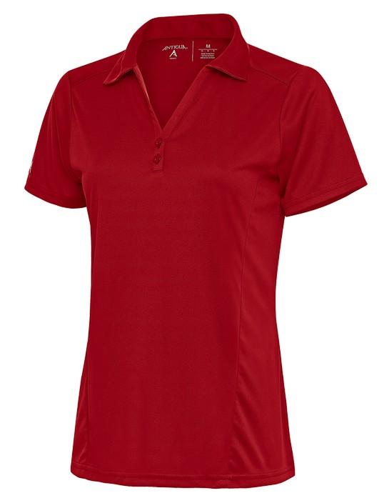 104198-022 - W's Tribute Dark Red (Womens Shirts Polo)