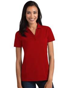 104198-022 - W's Tribute Dark Red (Womens Shirts Polo)