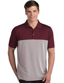104199-156 - Venture - Attic Pricing Maroon/White (Mens Shirts Polo)