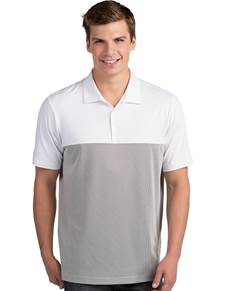 104199-282 - Venture White/Steel (Mens Shirts Polo)