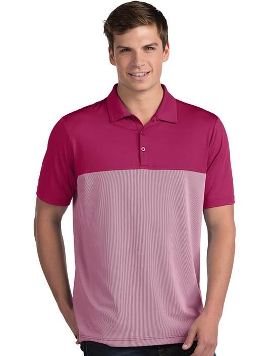 104199-32D - Venture Radish/White (Mens Shirts Polo)
