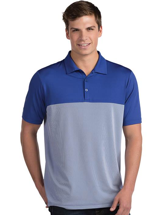 104199-347 - Venture Dark Royal/White (Mens Shirts Polo)