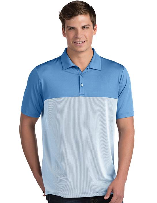 104199-390 - Venture Columbia Blue/White (Mens Shirts Polo)