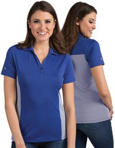 104200-347 - W's Venture Dark Royal/White (Womens Shirts Polo)