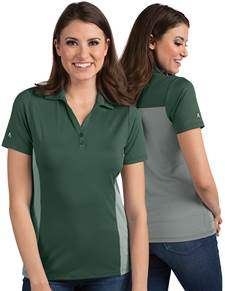 104200-417 - W's Venture Dark Pine/White (Womens Shirts Polo)