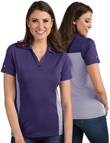 104200-481 - W's Venture Dark Purple/White (Womens Shirts Polo)