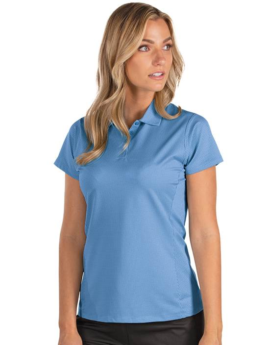 104214 - Women's Scope Rosewood/Radish (Womens Shirts Polo)