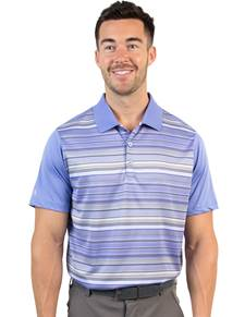 104223-65D - Crest Blueberry/White Multi (Mens Shirts Polo)