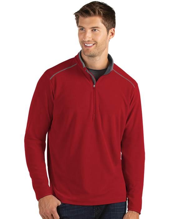 104225-64E - Glacier Dark Red/Carbon (Mens Outerwear Pullover)