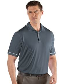 104228-102 - Salute Steel/White (Mens Shirts Polo)