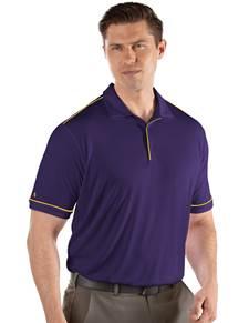 104228-328 - Salute Dark Purple/Gold (Mens Shirts Polo)