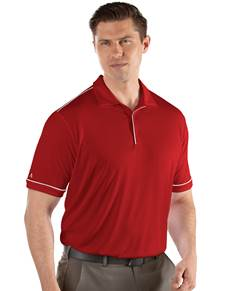 104228-352 - Salute Dark Red/White (Mens Shirts Polo)