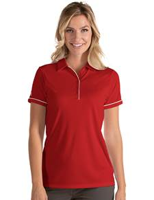 104234-352 - W's Salute Dark Red/White (Womens Shirts Polo)