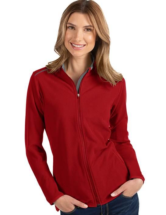 104235-64E - W's Glacier Dark Red/Carbon (Womens Outerwear Jacket)