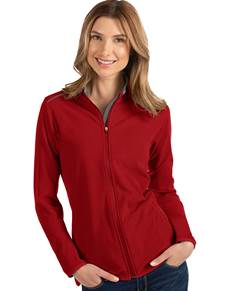 104235-64E - W's Glacier Dark Red/Carbon (Womens Outerwear Jacket)