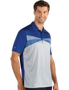 104238-345 - Conversion Dark Royal/Grey Heather (Mens Shirts Polo)