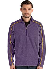 104239-200 - Brawn Dark Purple/Grey Heather/Gold (Mens Outerwear Pullover)
