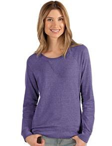 104248-243 - W's Poise Dark Purple Heather (Womens Outerwear Pullover)