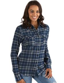 104255-165 - W's Stance Navy/Grey/White (Womens Shirts DressShirt)